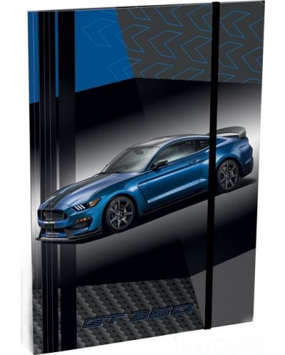 Mapa cu elastic Lizzy Card A4 - Ford Mustang GT - 1