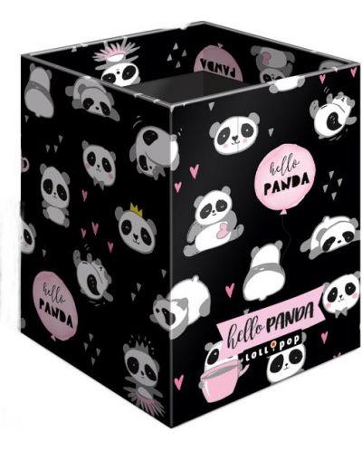 Suport creioane pentru birou Lizzy Card – Hello Panda, Lollipop - 1