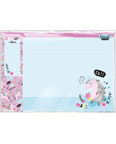 Covoras de birou Lizzy Card - Uni Cool Magic, Lollipop - 1