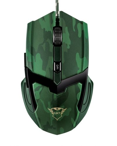 Mouse gaming Trust - GXT 101D Gav, jungle camo - 3