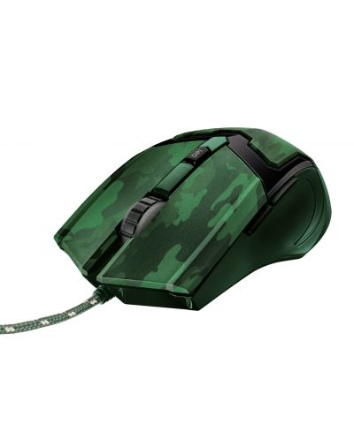 Mouse gaming Trust - GXT 101D Gav, jungle camo - 1