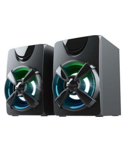 Sistem audio Trust - Ziva, RGB, 2.1, negru - 3