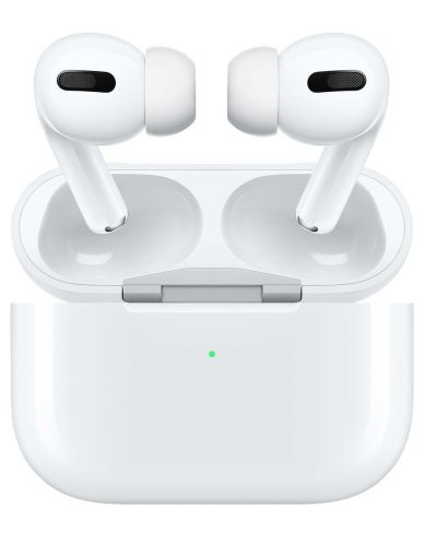Casti Apple - AirPods Pro, Wireless, albe - 1