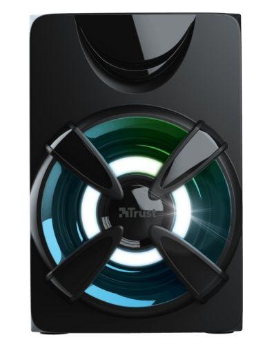 Sistem audio Trust - Ziva, RGB, 2.1, negru - 4