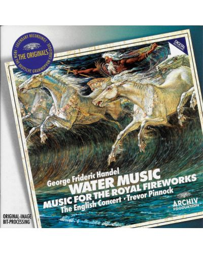 The English Concert - Handel: Water Music & Fireworks Music - (CD) - 1