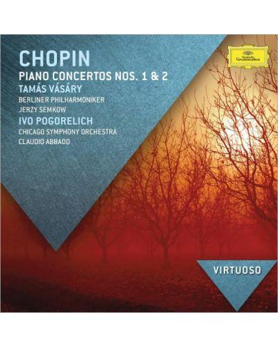 Tamás Vásáry - Chopin: Piano Concertos Nos. 1 & 2 - (CD) - 1