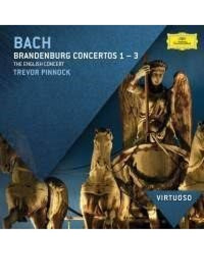 The English Concert, Trevor Pinnock - Bach, J.S.: Brandenburg Concertos Nos.1 - 3 - (CD) - 1