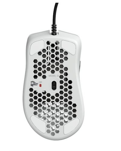 Mouse gaming Glorious - model D- small, matte white - 6