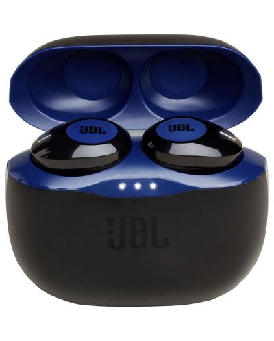 Casti wireless JBL - Tune 120TWS, albastre - 4