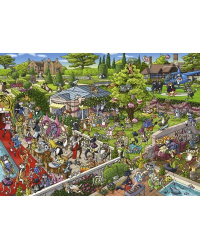 Puzzle Heye de 1000 piese - Petrecerea pisicilor, Boirgit Tanc - 2