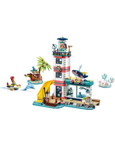 Constructor Lego Friends - Lighthouse Rescue Center (41380) - 3