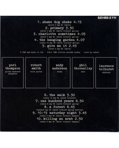 The Cure - Concert - the Cure Live - (CD) - 2