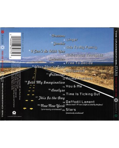 The Cranberries - Stars: the Best of The Cranberries 1992-2002 - (CD) - 2
