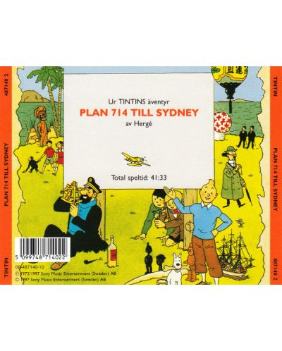 Tintin - Plan 714 Till Sydney - (CD) - 2