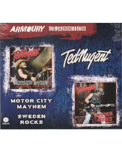 Ted Nugent - Motor City Mayhem + Sweden Rocks - (2 CD) - 1