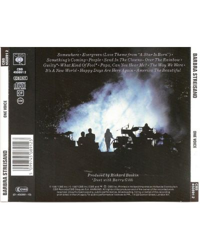 Barbra Streisand - ONE Voice (CD) - 2