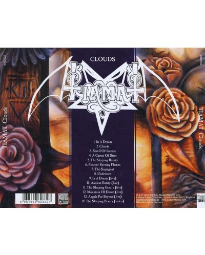 Tiamat - Clouds (Re-Issue 2012) - (CD) - 2
