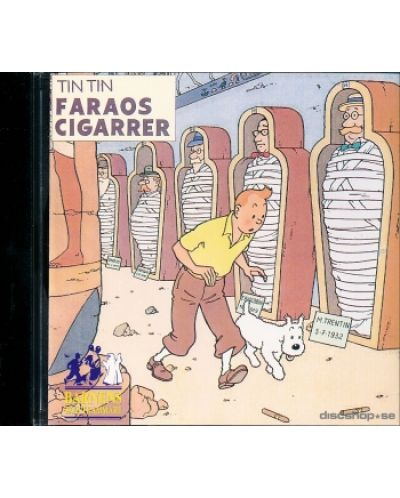 Tintin - Faraos Cigarrer - (CD) - 1