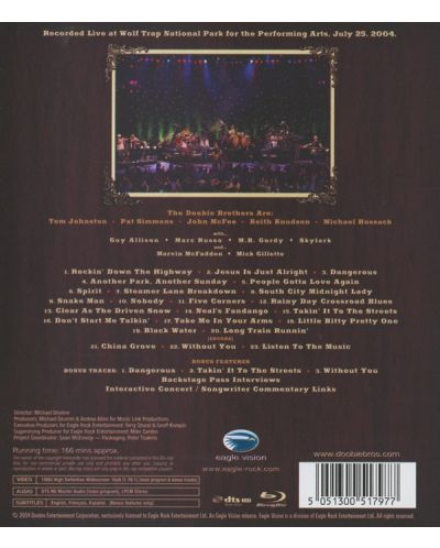 The Doobie Brothers - Live At the Wolf Trap - (CD) - 2