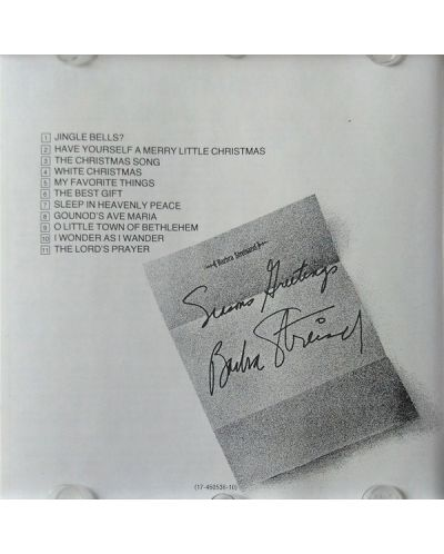 Barbra Streisand - A Christmas Album (CD) - 2