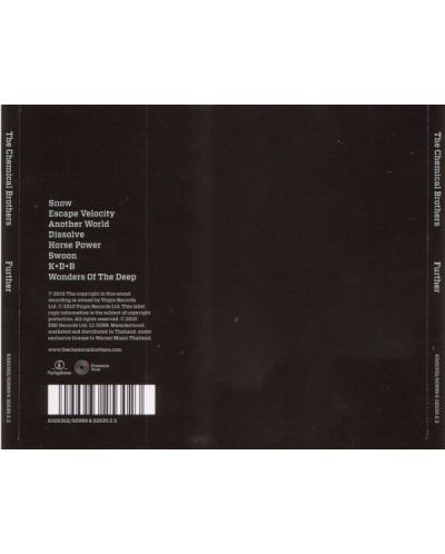 The Chemical Brothers - Further - (CD) - 2