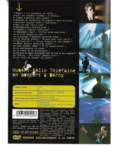Hubert-Felix Thiefaine - En Concert A Bercy -1998 - (DVD) - 2