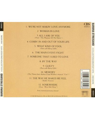 Barbra Streisand - A Collection Greatest Hits...And More (CD) - 2