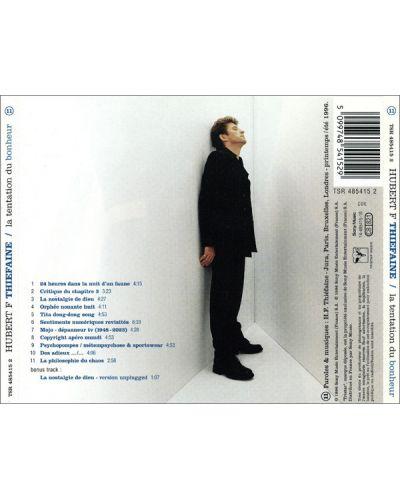 Hubert-Felix Thiefaine - La tentation du bonheur - (CD) - 2
