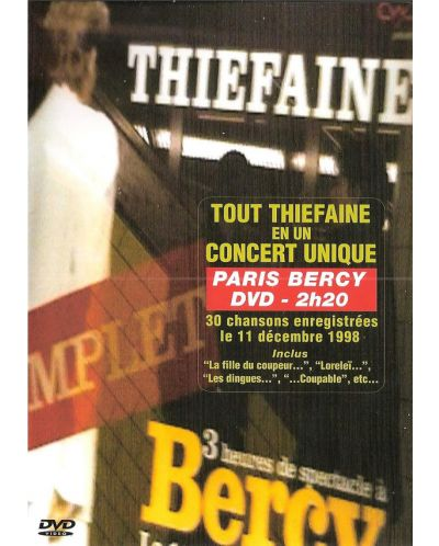 Hubert-Felix Thiefaine - En Concert A Bercy -1998 - (DVD) - 1