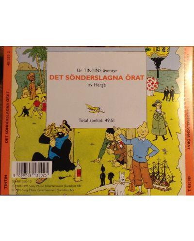 Tintin - Det Sonderslagna Orat - (CD) - 2