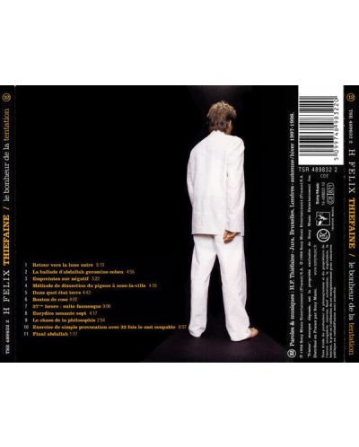 Hubert-Felix Thiefaine - Le bonheur De La tentation - (CD) - 2