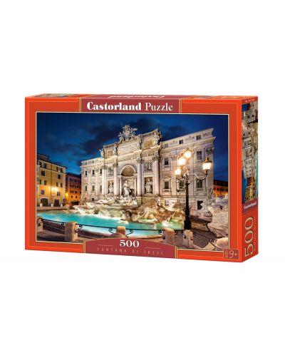 Puzzle Castorland de 500 piese - Fontana di Trevi - 1