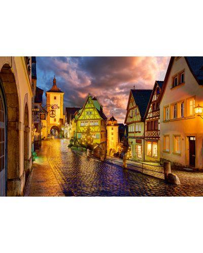 Puzzle Castorland de 1000 piese - Noaptea in Rothenburg - 2
