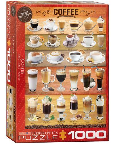 Puzzle Eurographics de 1000 piese – Cafea - 1