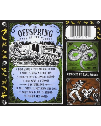 The Offspring - Ixnay On The Hombre (CD) - 2