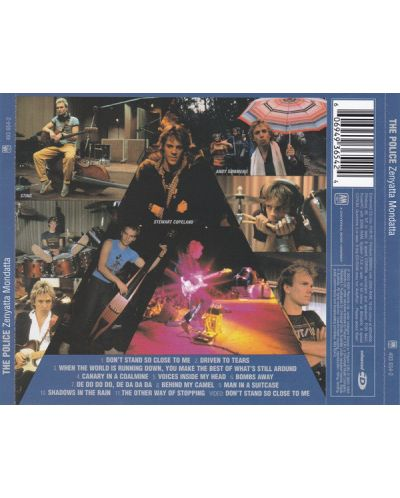 The Police - Zenyatta Mondatta (CD) - 2