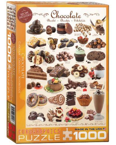Puzzle Eurographics de 1000 piese – Ciocolata - 1