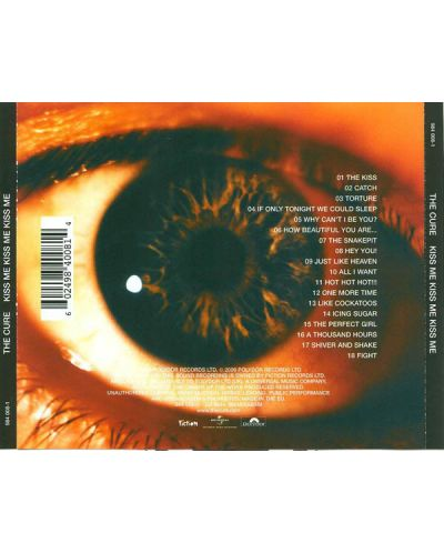 The Cure - Kiss Me, Kiss Me, KISS Me - (CD) - 2