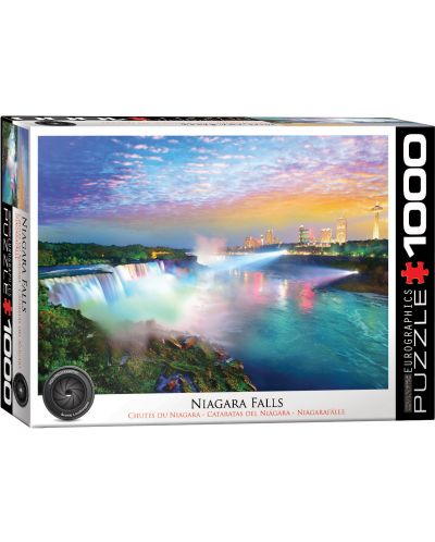 Puzzle Eurographics de 1000 piese – Cascada Niagara  - 1