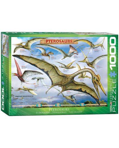 Puzzle Eurographics de 1000 piese – Pterozauri - 1