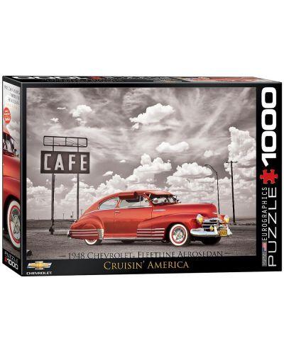 Puzzle Eurographics de 1000 piese – Autoturisme clasice  Chevrolet din anul 1948  - 1