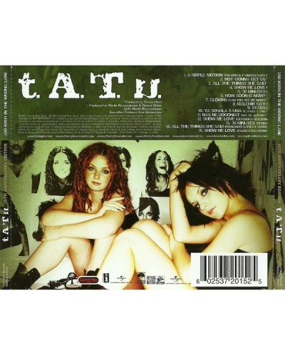 t.A.T.u. - 200 KM/H in the Wrong Lane - (CD) - 2