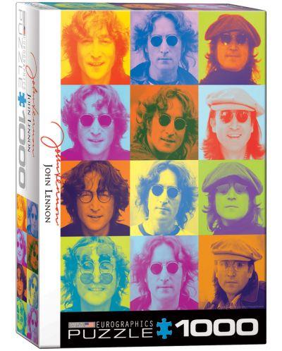 Puzzle Eurographics de 1000 piese – Portretul lui John Lennon - 1