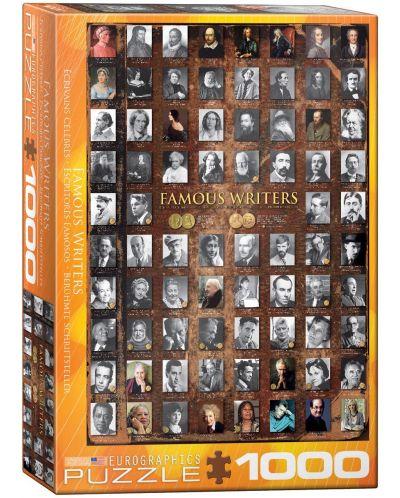 Puzzle Eurographics de 1000 piese – Scriitori cunoscuti - 1