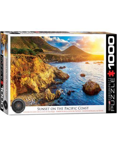 Puzzle Eurographics de 1000 piese – Apus peste Oceanul Pacific - 1