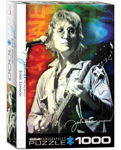 Puzzle Eurographics de 1000 piese – John Lennon in New York - 1