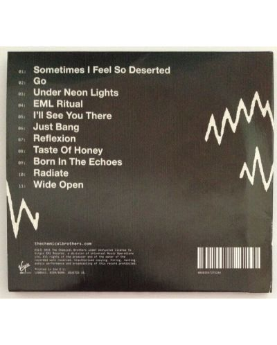 The Chemical Brothers - Born In the Echoes - (CD) - 2