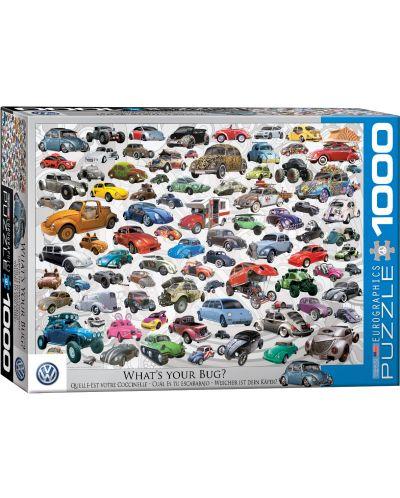 Puzzle Eurographics de 1000 piese – Volkswagen broscuta - 1
