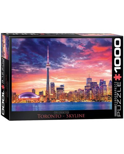 Puzzle Eurographics de 1000 piese – Toronto - 1