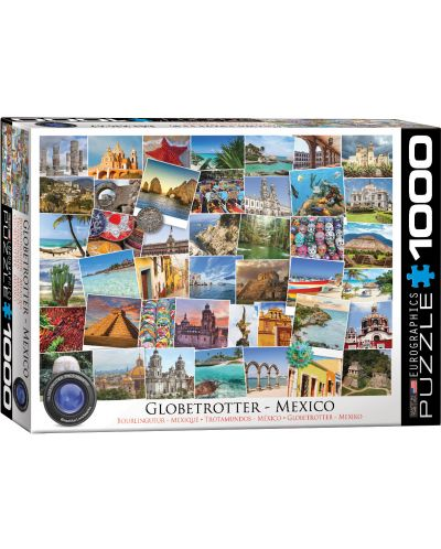 Puzzle Eurographics de 1000 piese – Calatorie in Mexic - 1